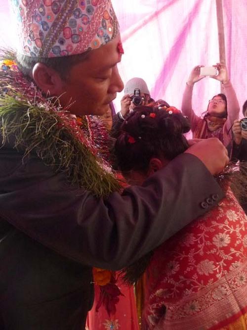 ネワール族の婚約式2