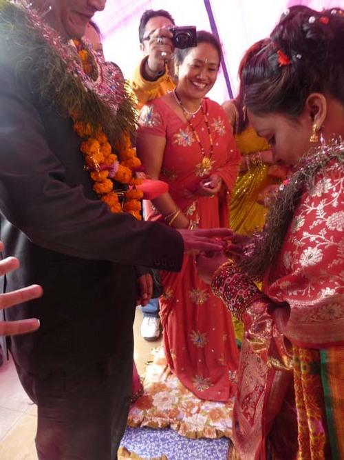 ネワール族の婚約式4