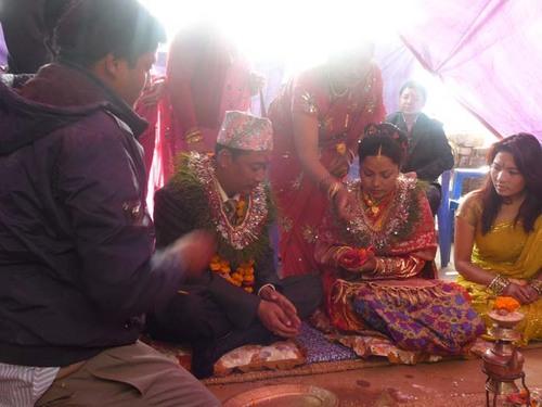 ネワール族の婚約式5