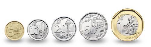 新硬貨5種