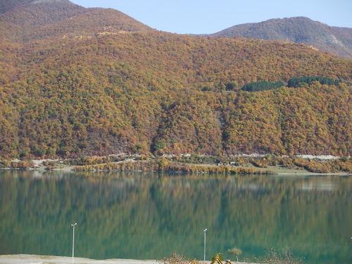 zhinvali reservoir01