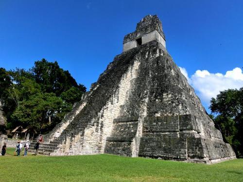 ティカル遺跡1号神殿
