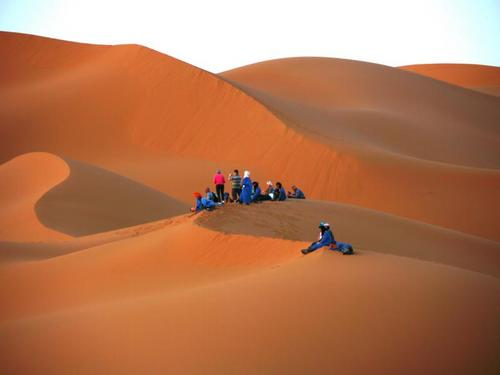 サハラ砂漠/メルズーガ