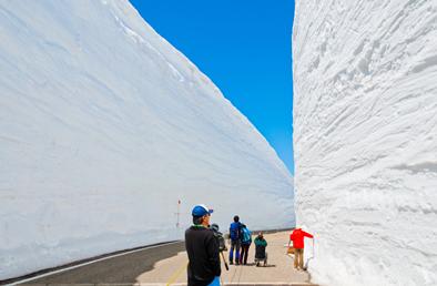 ド迫力!4〜6月限定「雪の大谷ウォーク」で白銀の世界を体験!