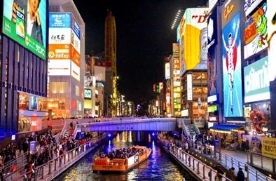 笑いとグルメの聖地?!大阪でパワーチャージの旅!