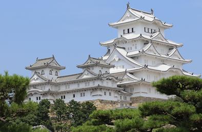 世界遺産!白き美しき姫路城へ。